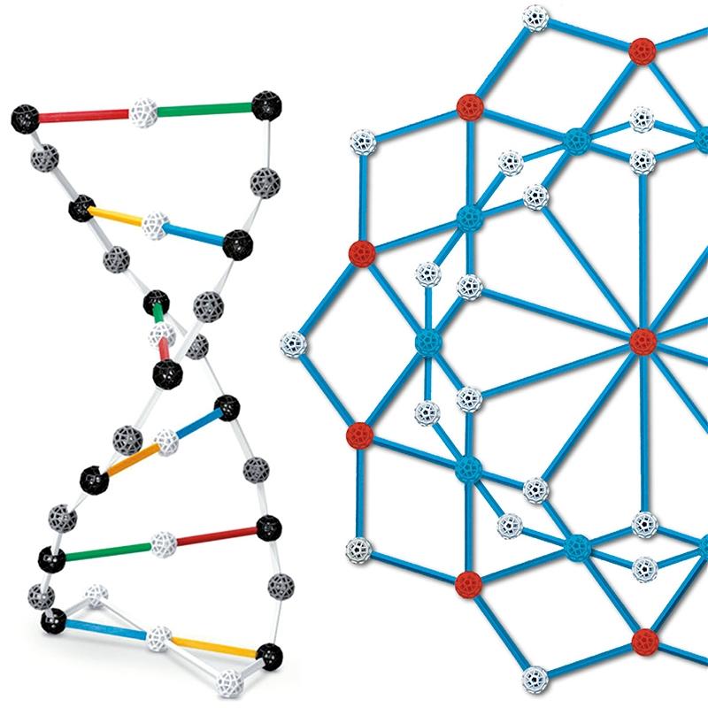 Tudományos modellező készlet - ConneXions 127 színes gömb - 1
