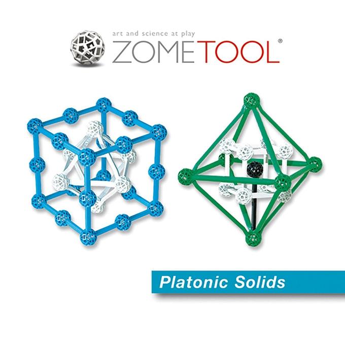 Platóni Testek - Plato's Solids - 1