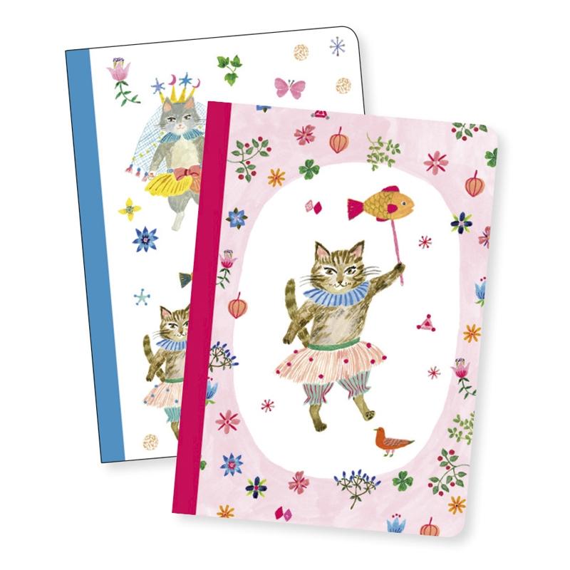Jegyzetfüzet 2 db A/6 - Aiko little notebooks - 0