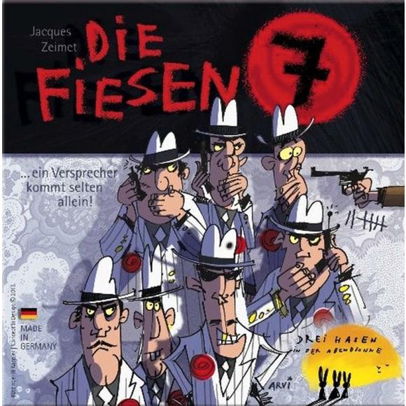 Kártyajáték - Aljas Hetes - Die Fiesen 7 - 0