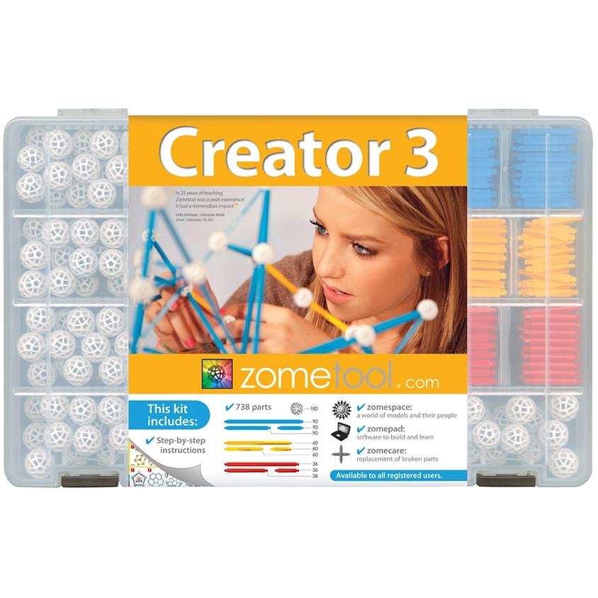 Tudományos modellező készlet - Creator 3 (csoportos alkotó készlet) - 0