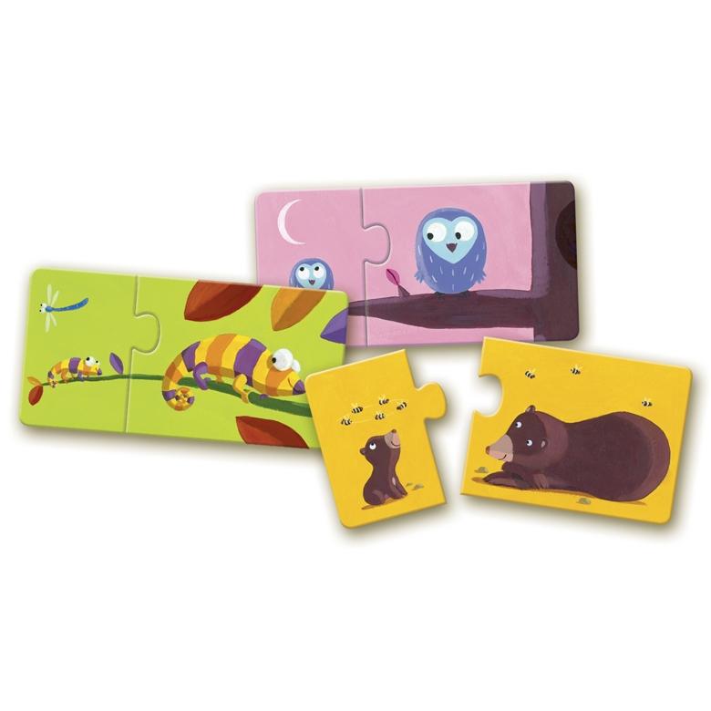 Párosító puzzle - Mama-baba - Mom and baby - 1