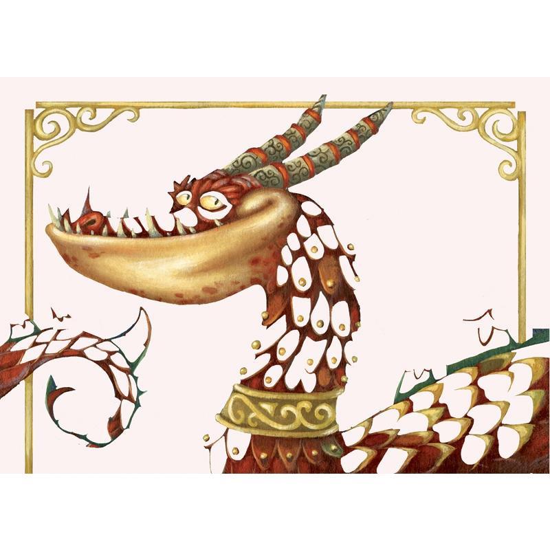 Fémfóliás színezés - Aranyozd be a sárkányt - Guild the dragons - 2
