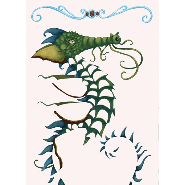 Fémfóliás színezés - Aranyozd be a sárkányt - Guild the dragons - 3