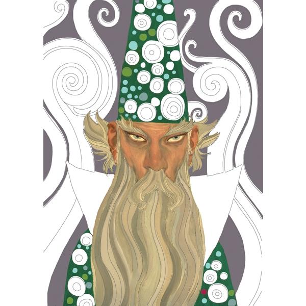 Fémfóliás színezés - Artur király udvara - Around Arthur - 1
