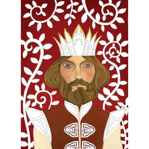 Fémfóliás színezés - Artur király udvara - Around Arthur - 3