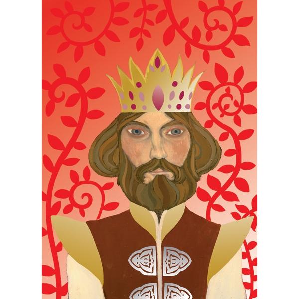 Fémfóliás színezés - Artur király udvara - Around Arthur - 4