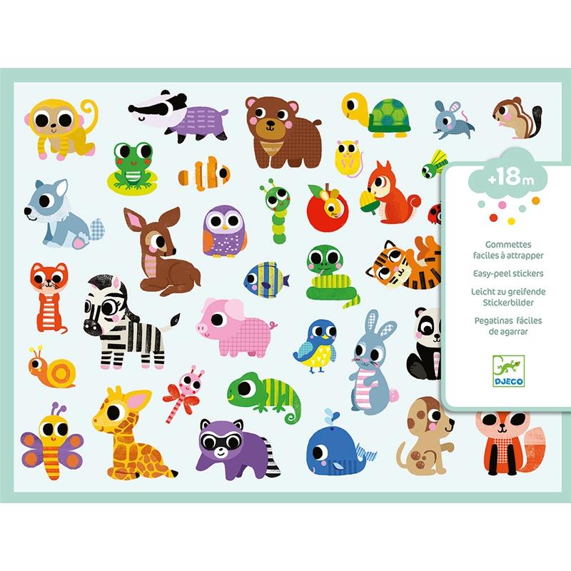 Matricák - Állatfigurák - Baby animals - 0
