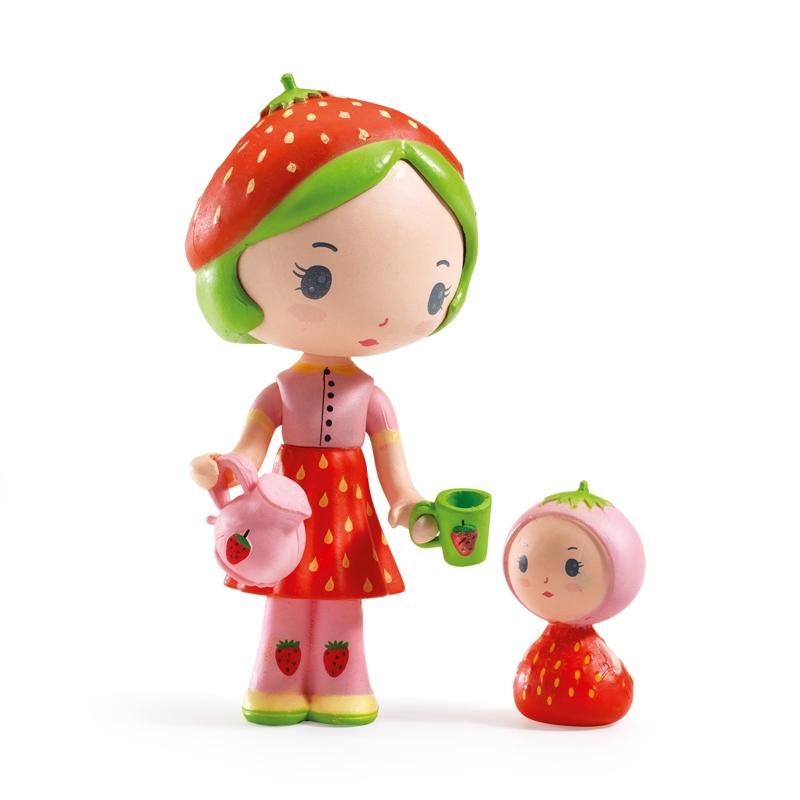 Álmovilág figurák - Eperke és Szamóca - Berry & Lila - 0