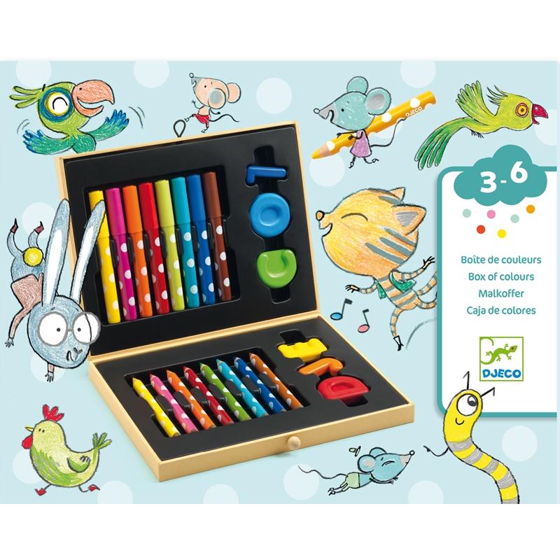 Kicsik színes készlete - Box of colours for toddlers - 0