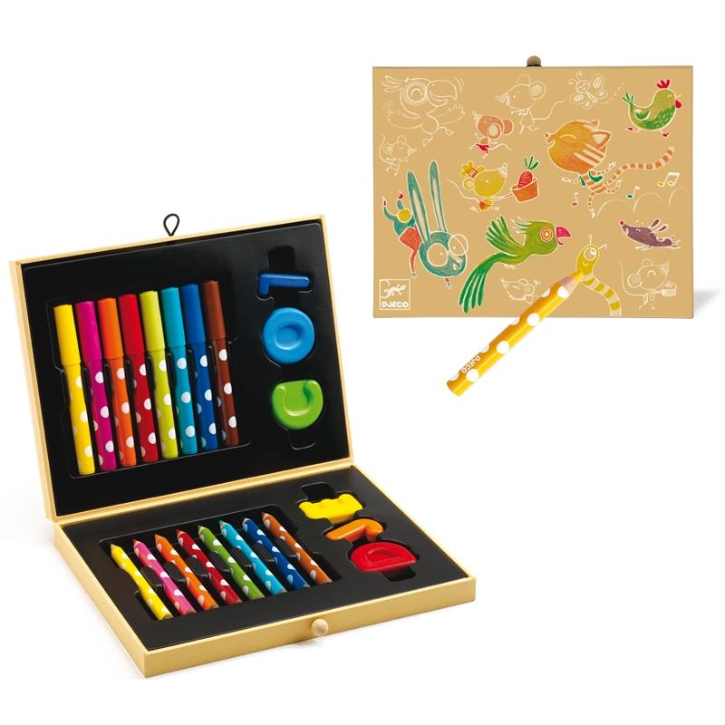 Kicsik színes készlete - Box of colours for toddlers - 1