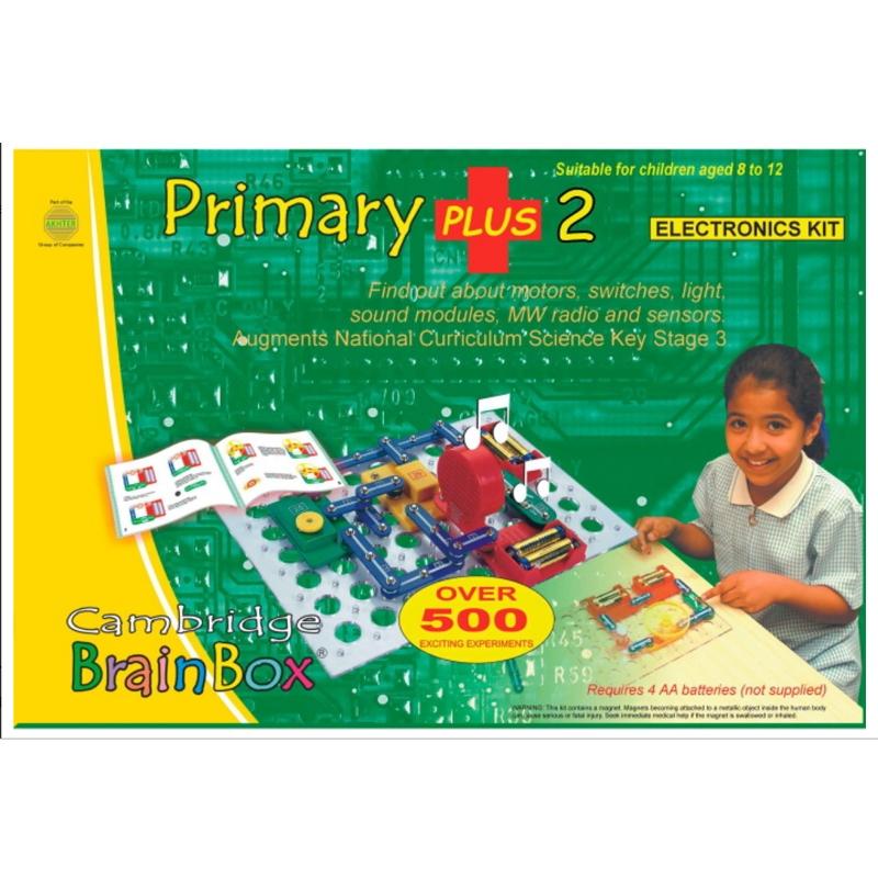 BrainBox - Elektronikai alap plusz készlet - Primary Plus 2 - 0