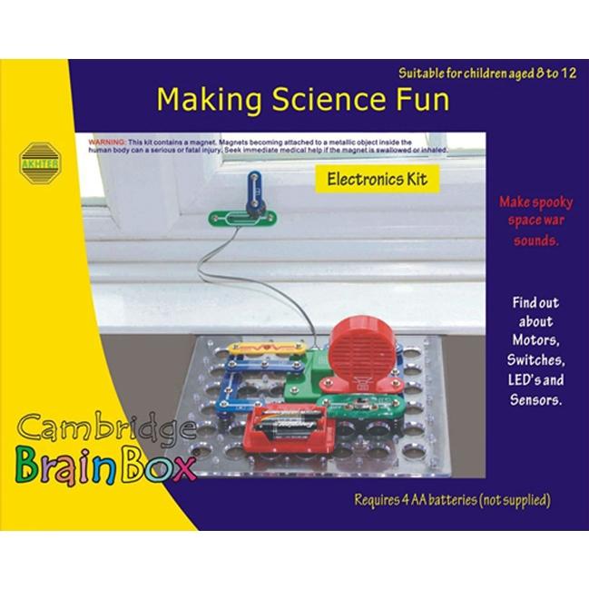 Brainbox - Érzékelők és riasztók készlet - Making Science Fun - 0