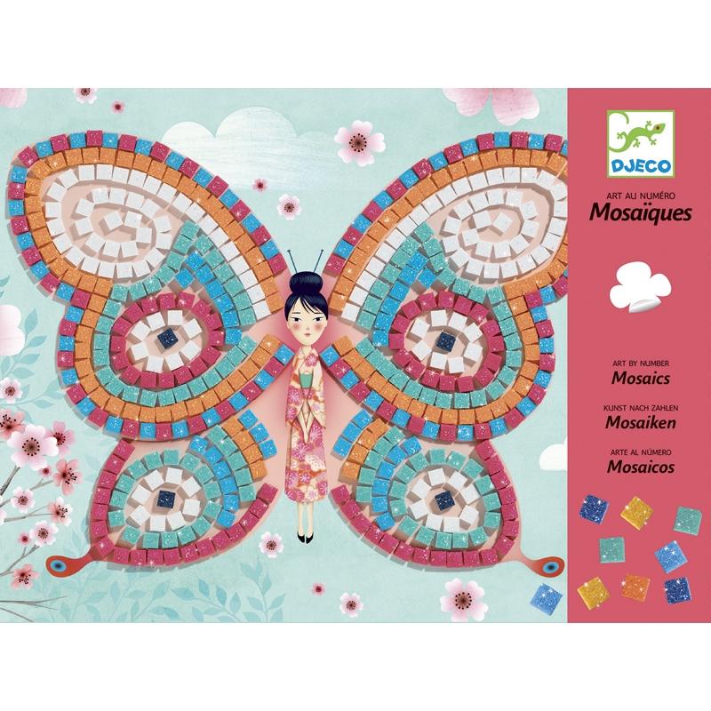 Mozaikkép készítés - Pillangók - Butterflies - 0