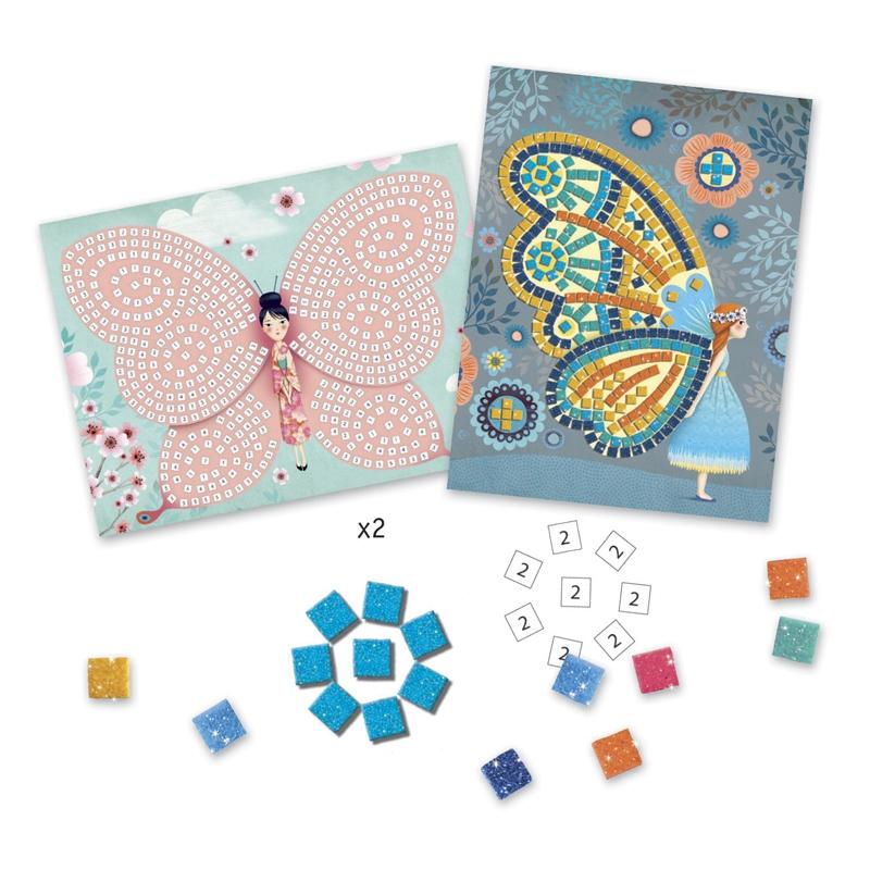 Mozaikkép készítés - Pillangók - Butterflies - 1