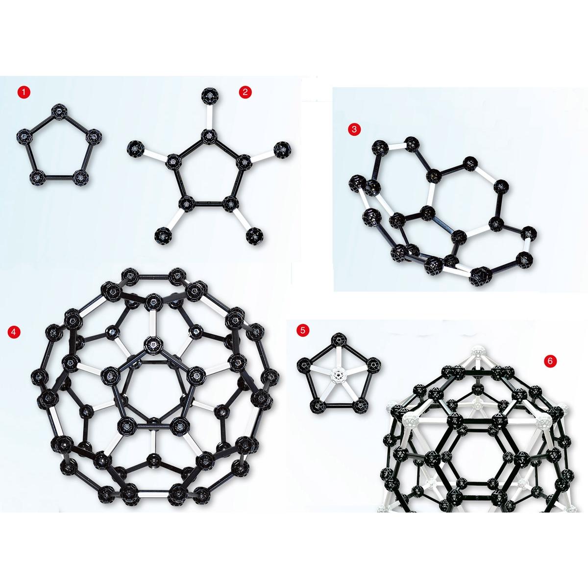 Tudományos  modellező készlet - C60 Fullerene - 2