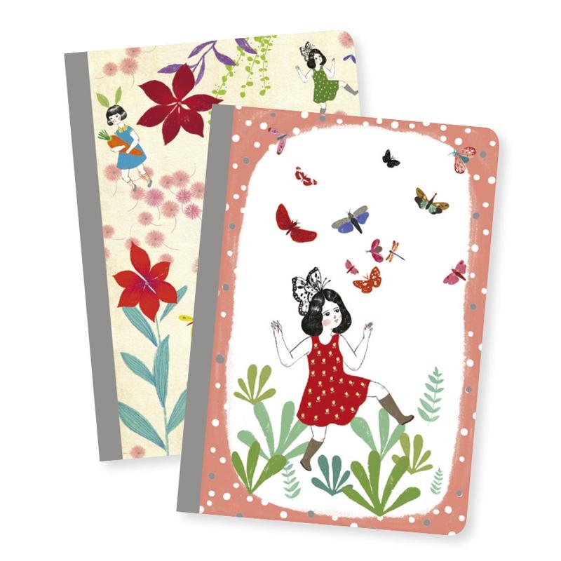 Jegyzetfüzet 2 db A/6 - Chic little notebooks - 0