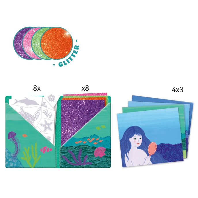 Kollázs műhely - Óceán mélyén - Collages - Ocean - 1