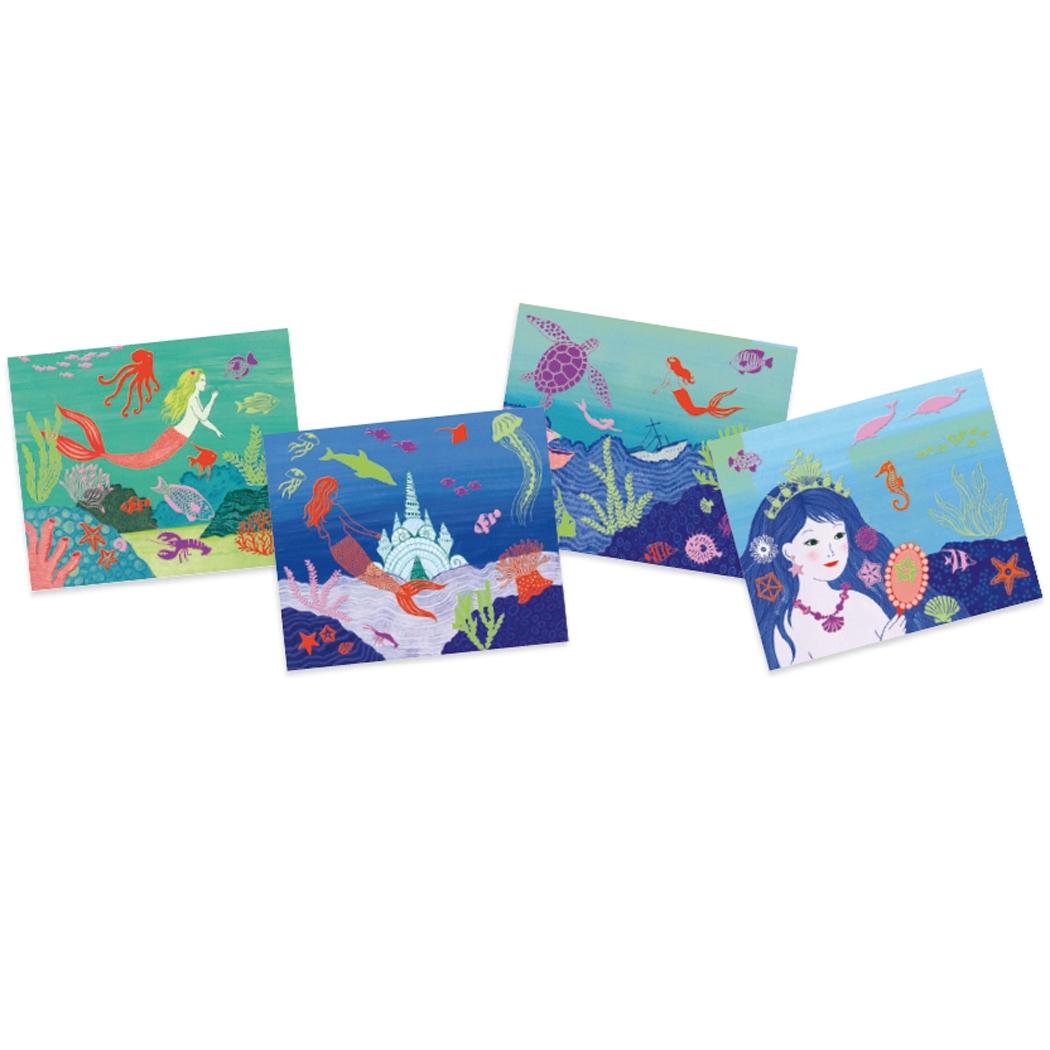 Kollázs műhely - Óceán mélyén - Collages - Ocean - 2