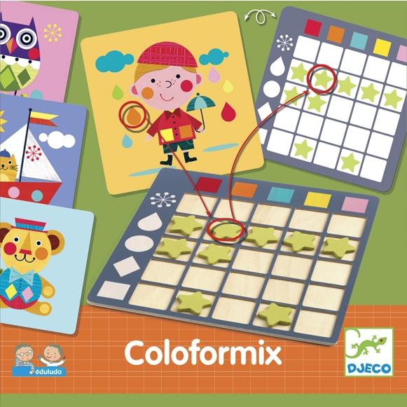 Fejlesztő játék - Színesek - Eduludo Coloformix - 0
