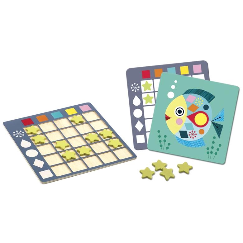 Fejlesztő játék - Színesek - Eduludo Coloformix - 1