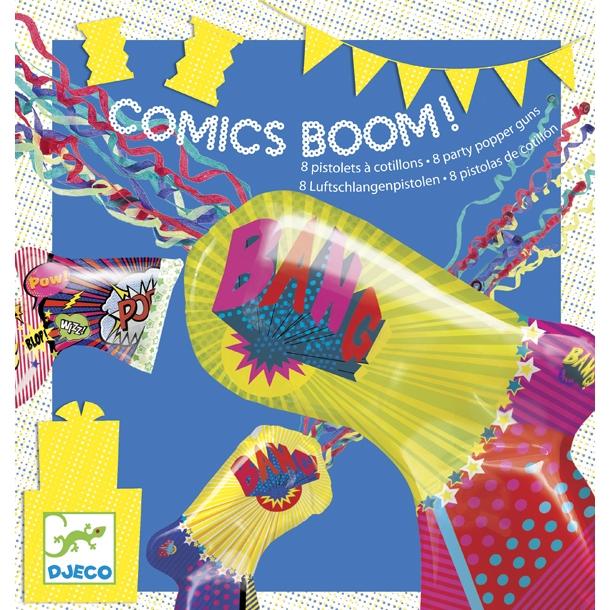 Parti játék - Comics boom - 0