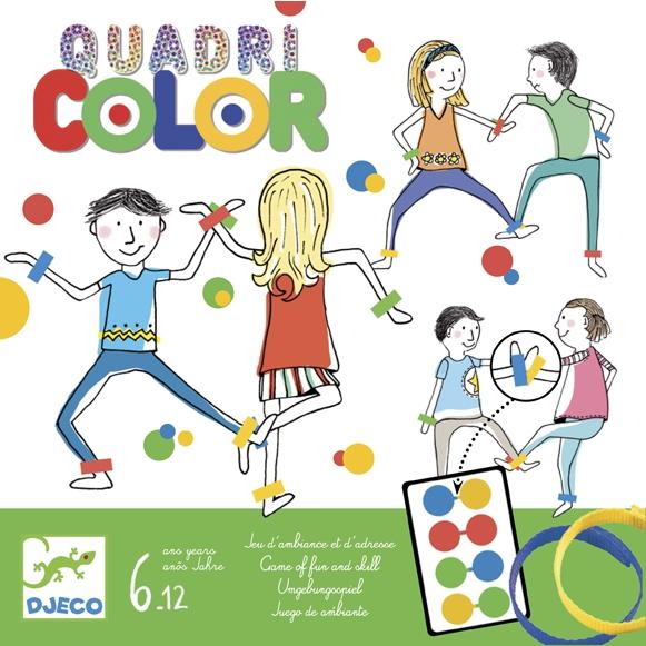 Társasjáték - Színérintő - Quadricolor - 0