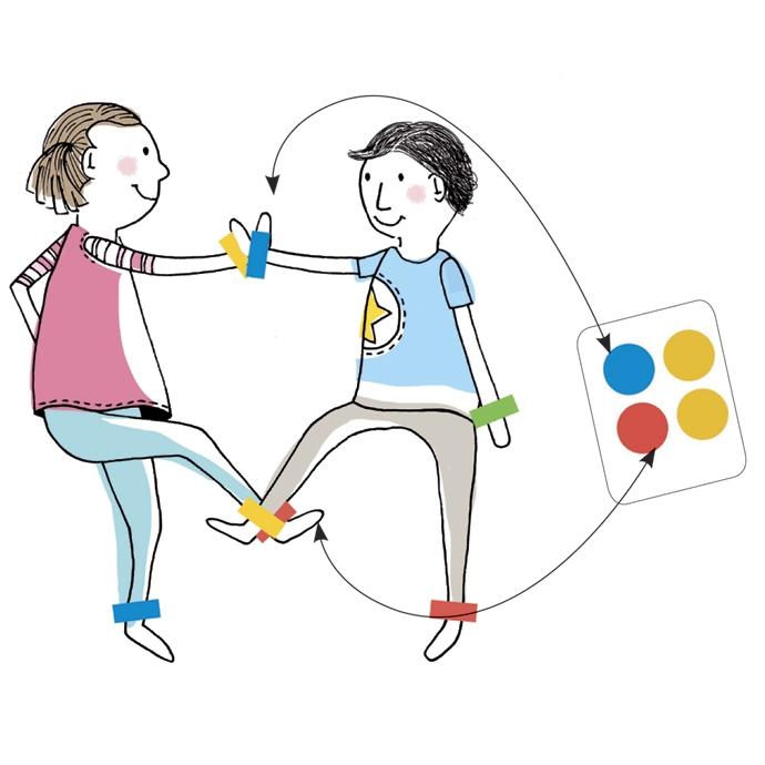 Társasjáték - Színérintő - Quadricolor - 1