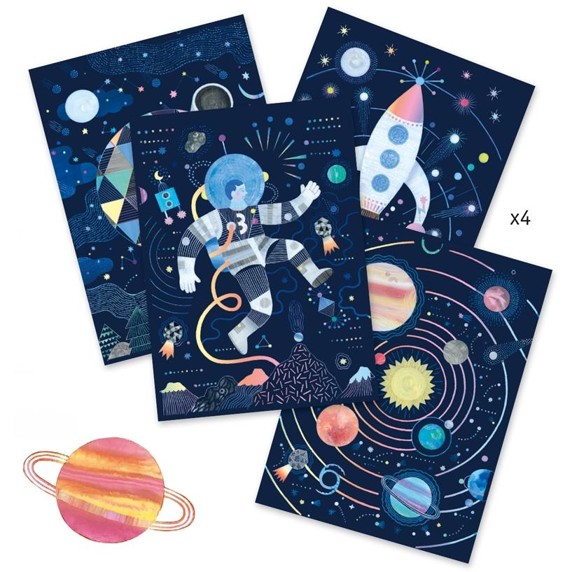 Karckép technika - Űrutazás - Cosmic mission - 1