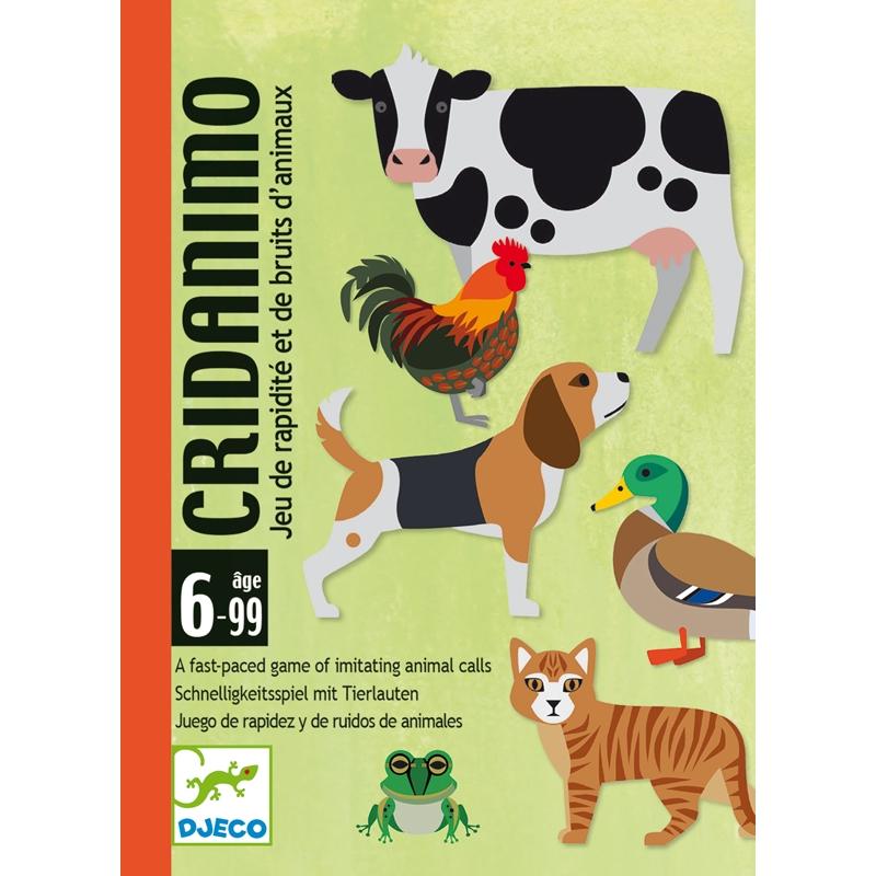 Kártyajáték - Állati hangos - Cridanimo - 0