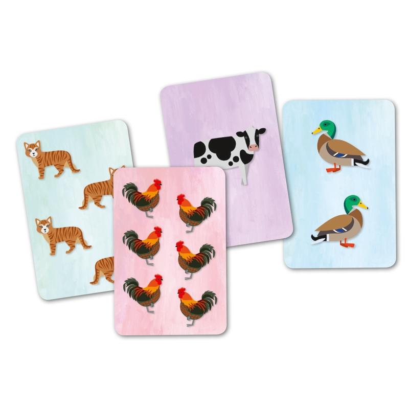 Kártyajáték - Állati hangos - Cridanimo - 1