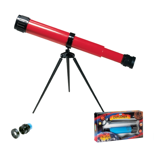 Csillagász gyerek távcső - Explorer Telescope 15-25x35 with Tripod - 0