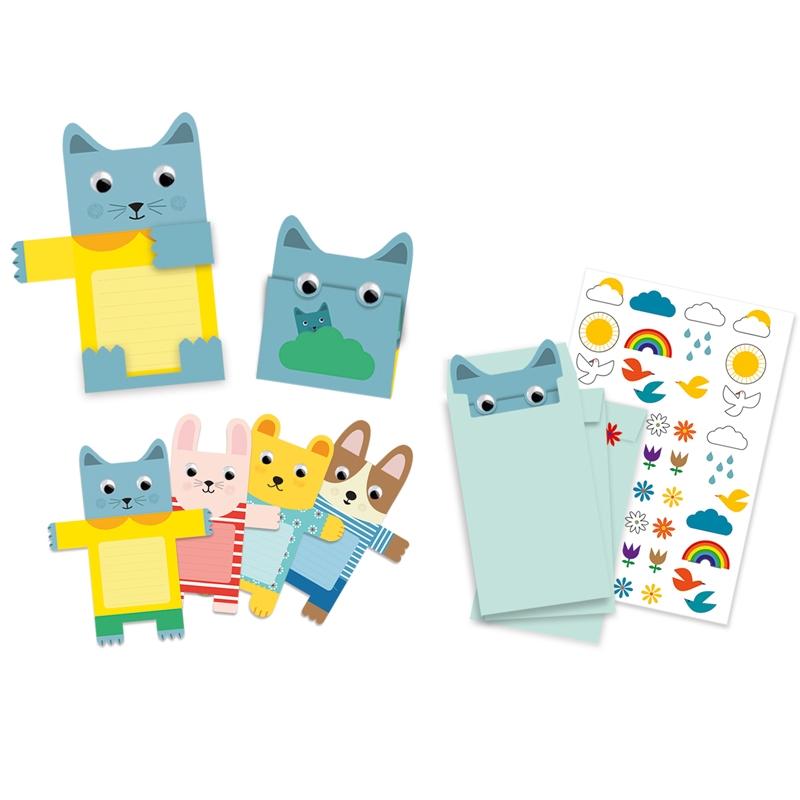 Partijáték - Meghívókártyák - Cuddly toys invitation cards - 0