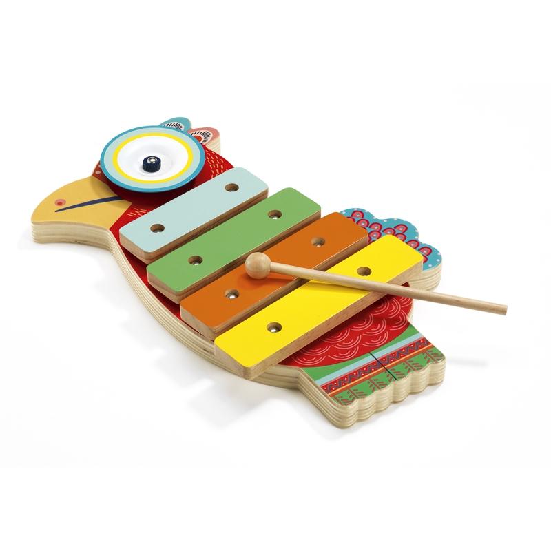 Játékhangszer - Cintányér és xilofon - Cymbal and xylophone - 0