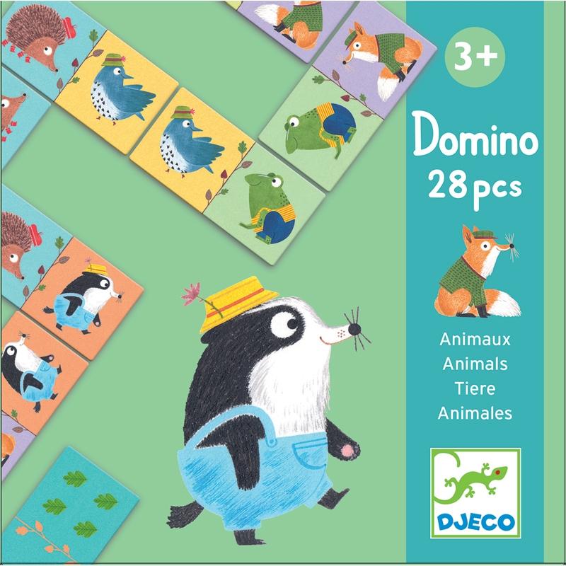 Dominó játék - Állatok - Animals - 0
