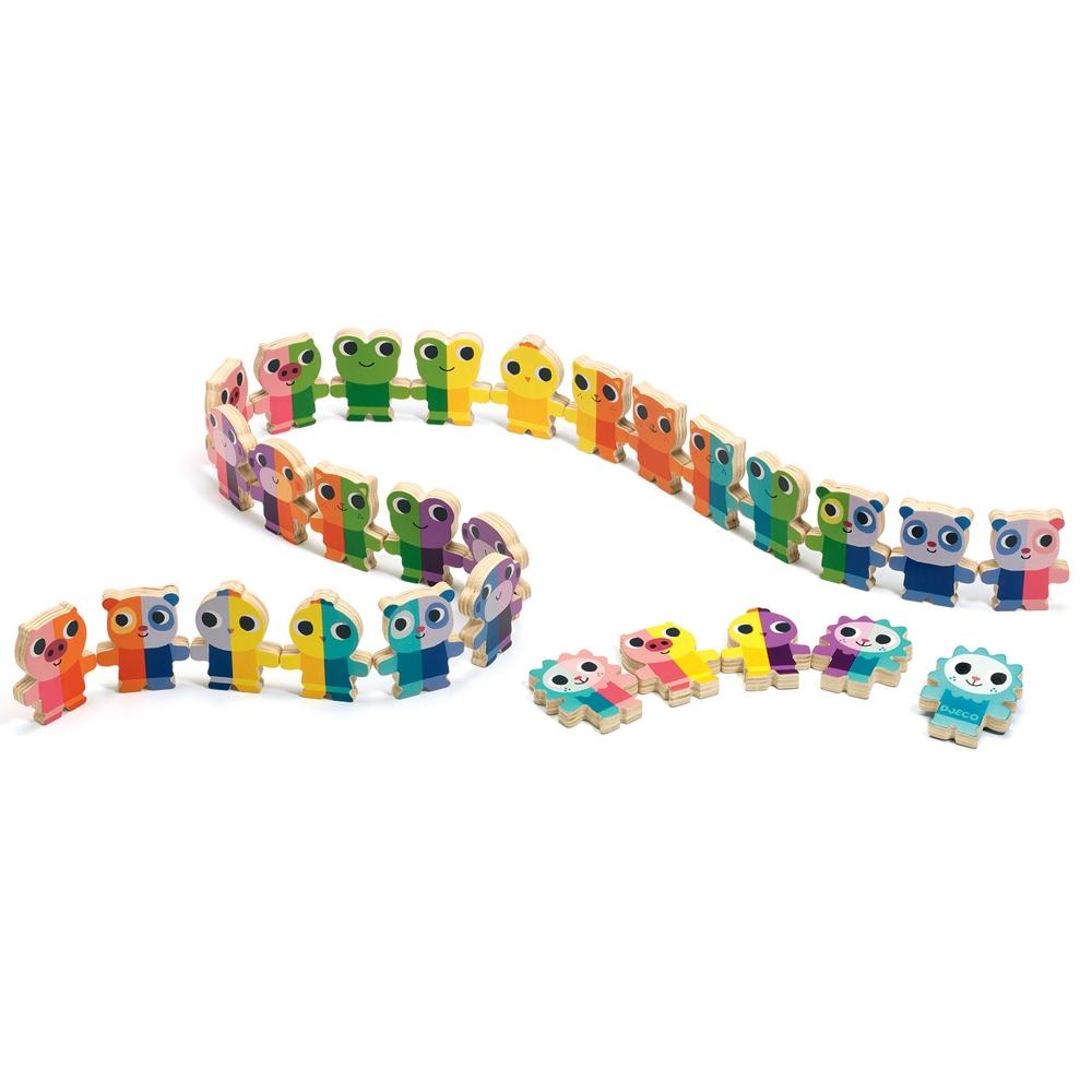 Domino játék - Talpra cica! - Domino Up - 1