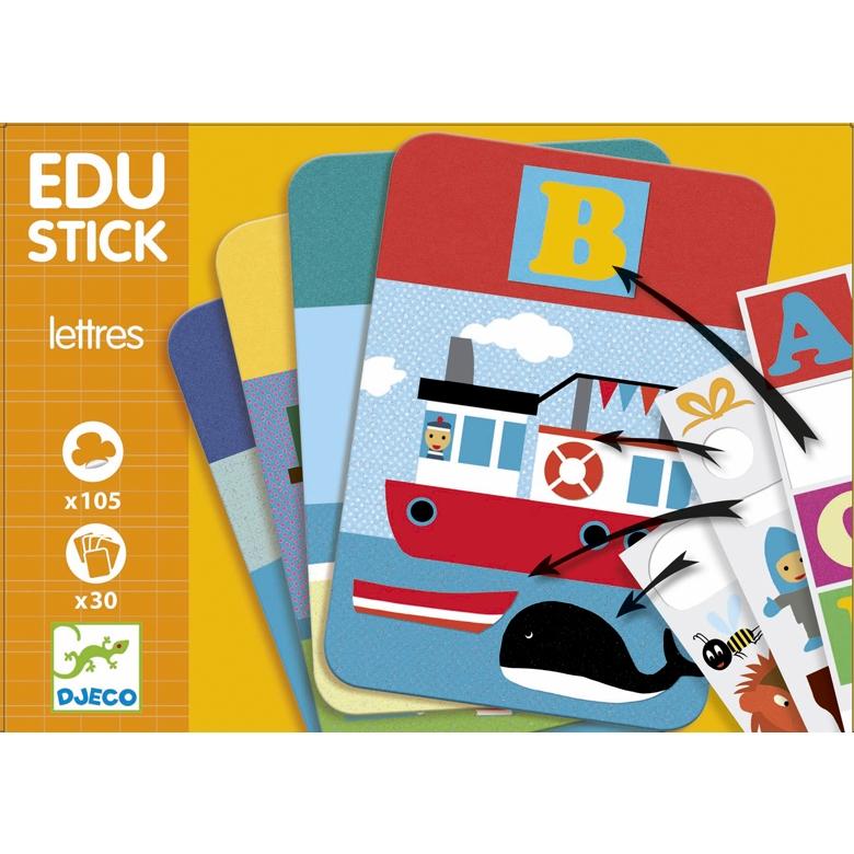Fejlesztő matricázó - Edu Stick ABC (only available in French) - 0