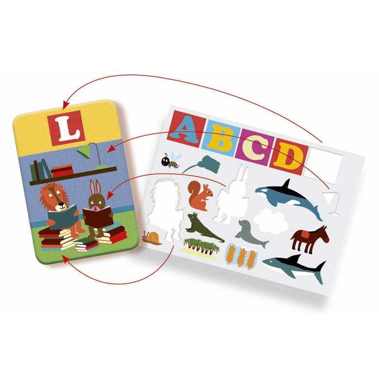 Fejlesztő matricázó - Edu Stick ABC (only available in French) - 2