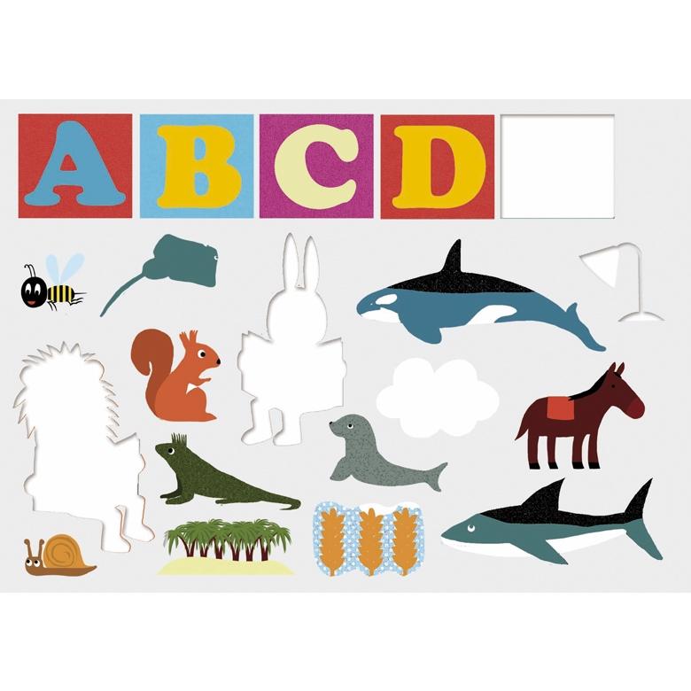Fejlesztő matricázó - Edu Stick ABC (only available in French) - 3