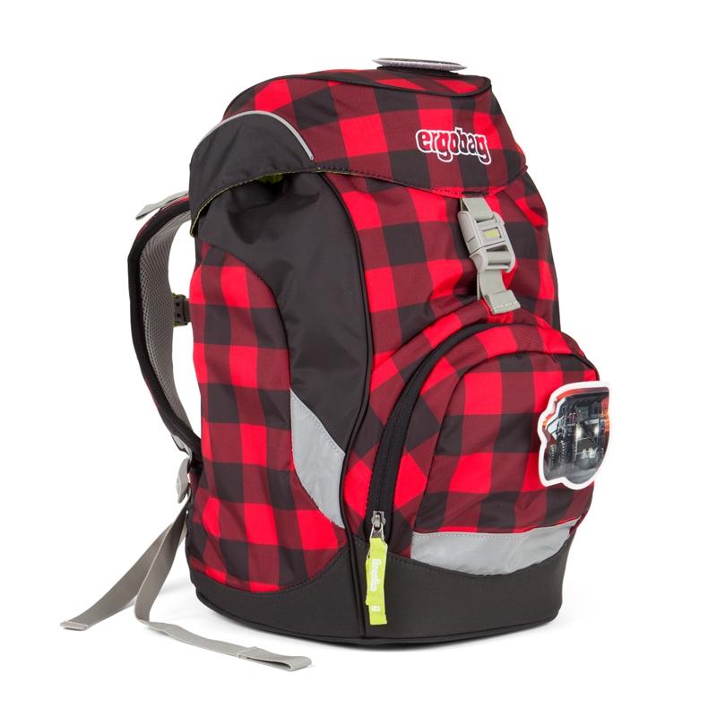 ergobag Prime iskolatáska - hátizsák - LumBEARjack - 0