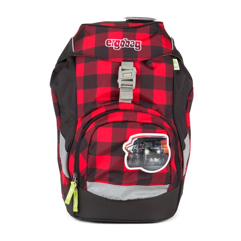 ergobag Prime iskolatáska - hátizsák - LumBEARjack - 1