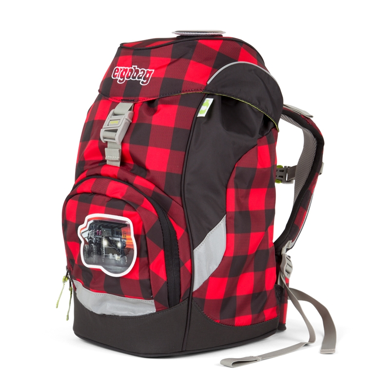 ergobag Prime iskolatáska - hátizsák - LumBEARjack - 2