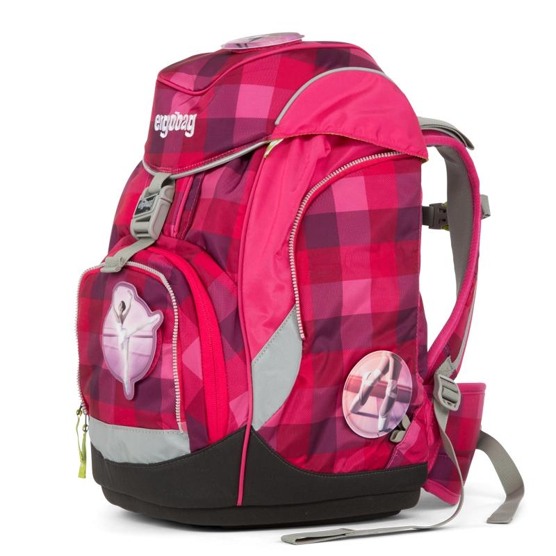 Ergobag Prémium iskolatáska - hátizsák - PrimBEAR Balerina - 0