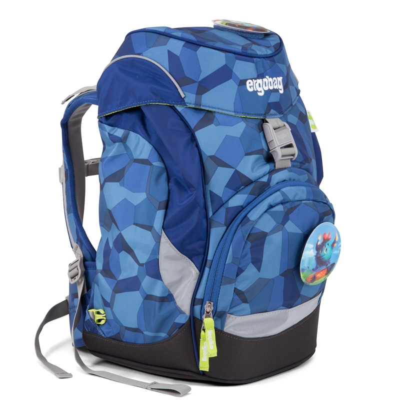 ergobag Prime iskolatáska - hátizsák - MonstBear - 0