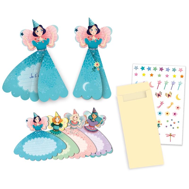 Parti játék - Meghívókártyák - Fairies invitation cards - 0