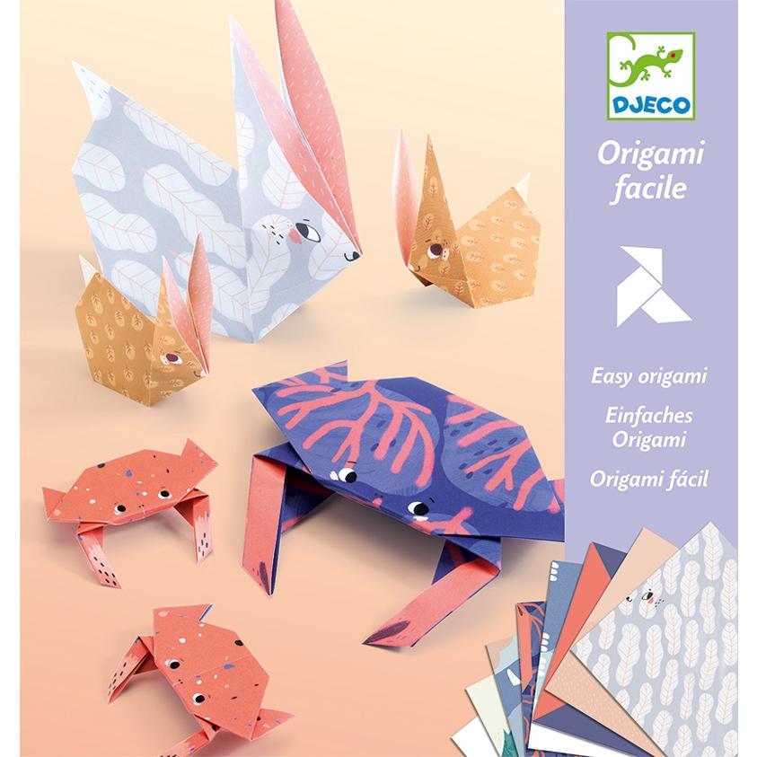 Origami - Állati család - Family - 0
