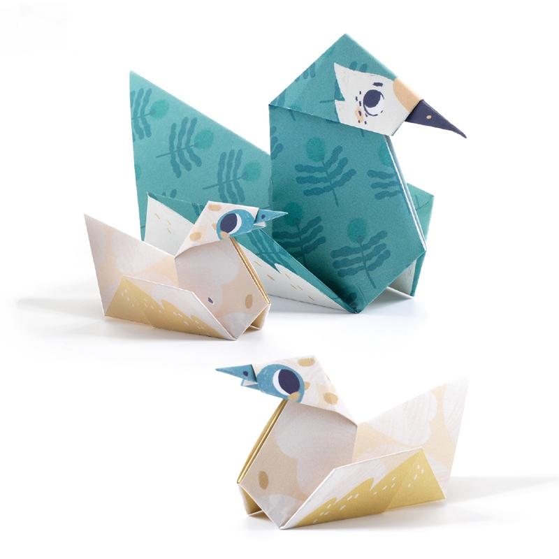 Origami - Állati család - Family - 1