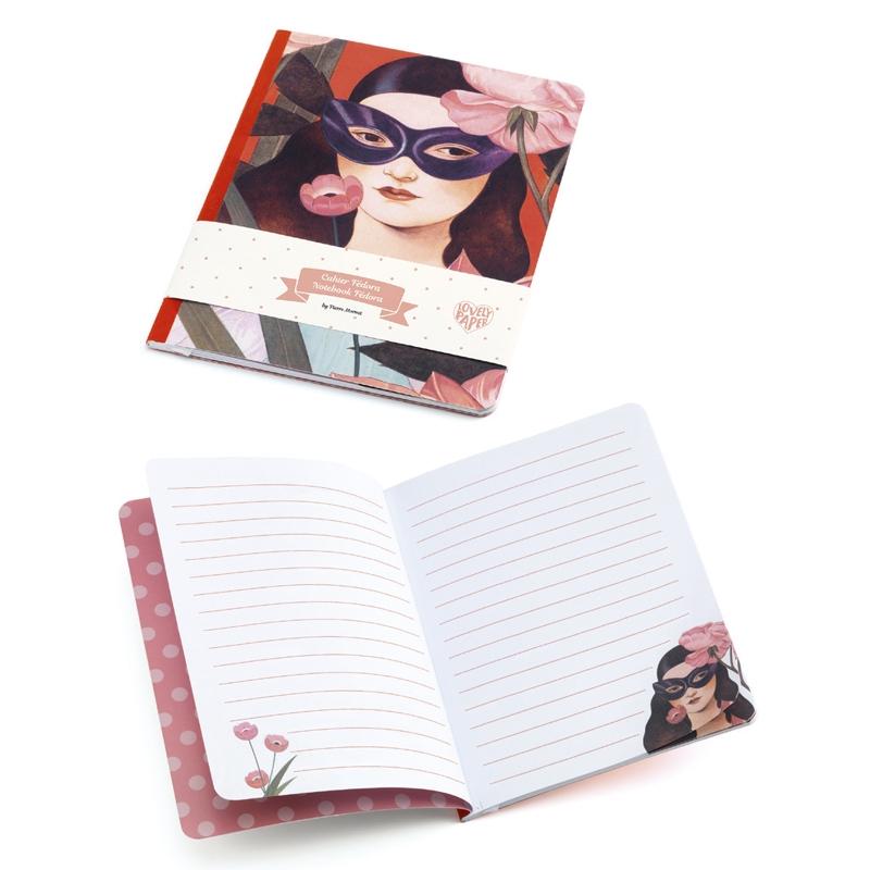 Jegyzetfüzet A/5 - Fedora notebook - 1