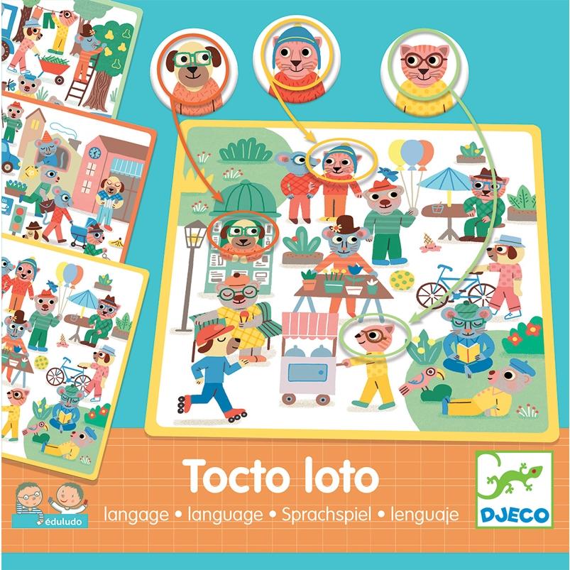 Fejlesztő játék - Pontosan az! - Eduludo Tocto loto - 0