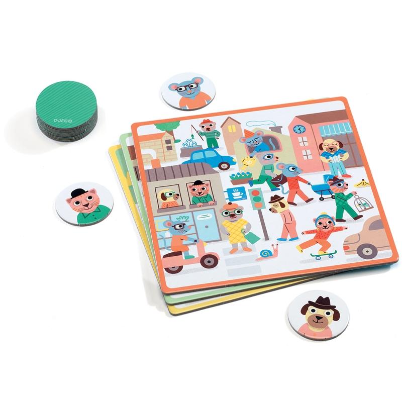 Fejlesztő játék - Pontosan az! - Eduludo Tocto loto - 1